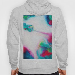 abstract ink waves i Hoody
