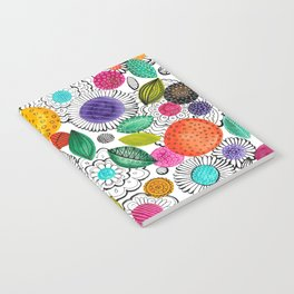 Floral Fun Notebook