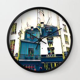Quartier Latin Wall Clock
