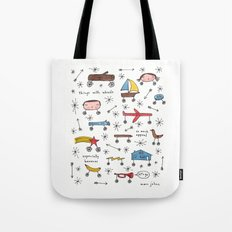 things with wheels Tote Bag