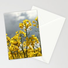 Bright Yellow to the Storm Stationery Cards