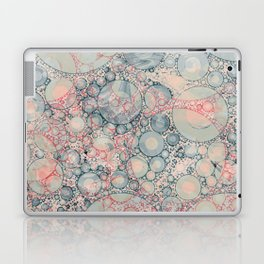 Vintage Bubble Cell Pattern Abstract Laptop & iPad Skin