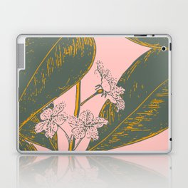 Modern Botanical Banana Leaf Laptop & iPad Skin