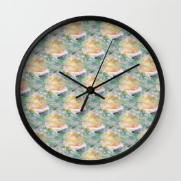 Rose Mist Wall Clock