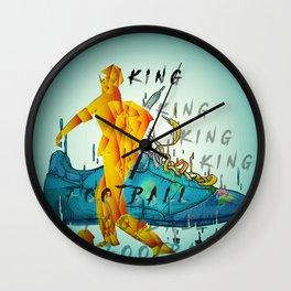 king football Wall Clock