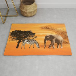 African Safari Rug