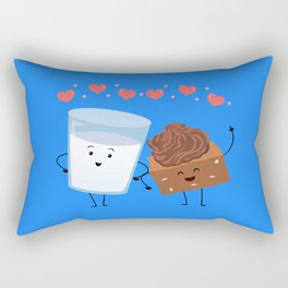 Brownie's BFF Rectangular Pillow