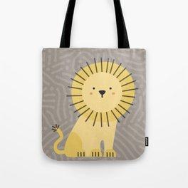 Nicco the lion Tote Bag