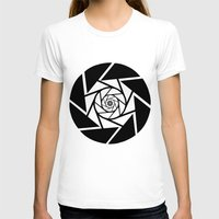 vector T-shirts featuring Aperture Vector by Alli Vanes
