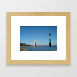 Headland 02 Framed Art Print