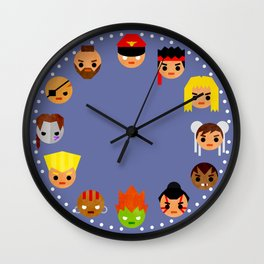 Street Fighter 2 Mini Wall Clock