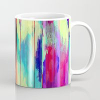 glitch Mugs featuring Glitch by James McKenzie