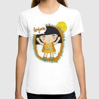 bonjour T-shirts featuring Bonjour by maru y su cabeza