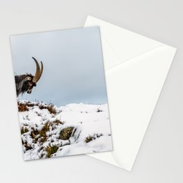 Welsh Mountain Goats Stationery Cards