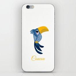 Coucou bird iPhone Skin