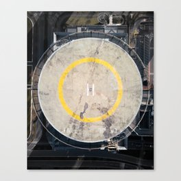 heliport Canvas Print
