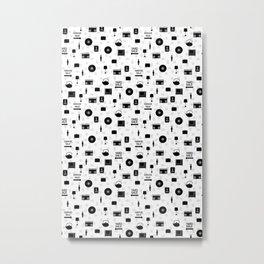Garage Sale Pattern Metal Print