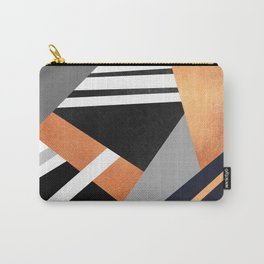Geometric Combination V2 Carry-All Pouch