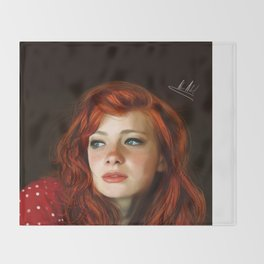 RedHead Throw Blanket