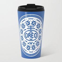 """""""OREO"""" Biscuit poster Travel Mug"""