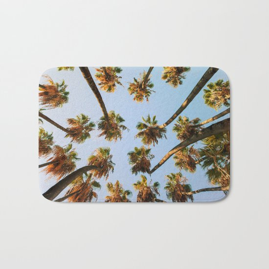 Palm trees overload Bath Mat