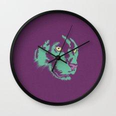 Panther Alt Wall Clock