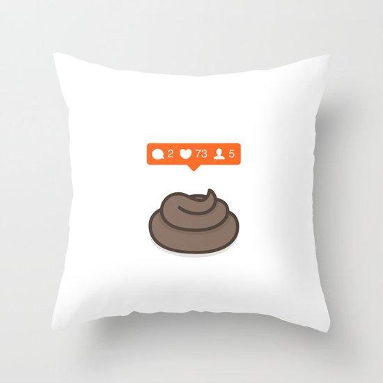 Instagrammification Throw Pillow