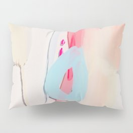 Even After All  #2 - Abstract on perspex by Jen Sievers Pillow Sham