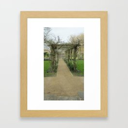 A Winding Way Framed Art Print