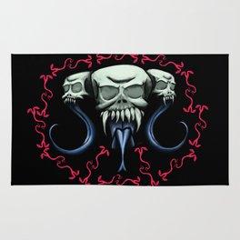 Blind Skulls N' Snakes  Rug