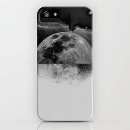 Moonhead iPhone Case