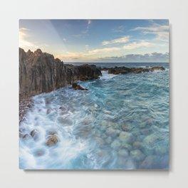 Seascape in Tenerife, Canary Islands. Metal Print