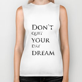 Positive thoughts will improve your mind Biker Tank