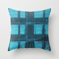 Somewhere behind a window Throw Pillow