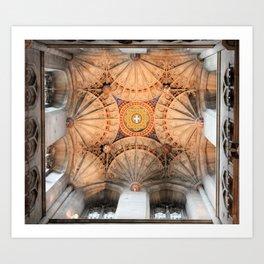 Canterbury Cathedral Art Print
