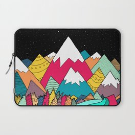 River in the mountains Laptop Sleeve