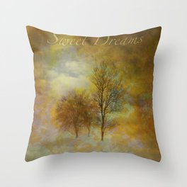 Lost in Fog Throw Pillow