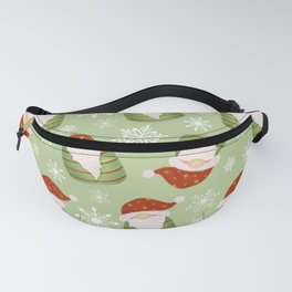 Christmas Gnomes Fanny Pack