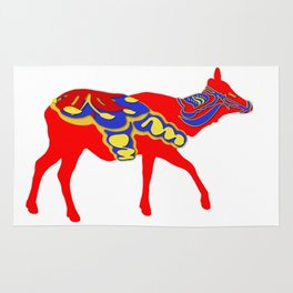 Graphic Dala Elk Female Rug