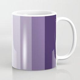 PARTY STRIPES PURPLE by Monika Strigel Coffee Mug