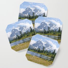 MOUNT SHUKSAN ONE AUGUST DAY Coaster
