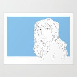 Girl, I see you Art Print