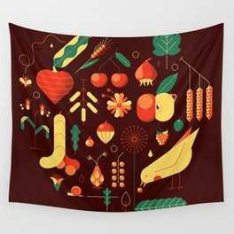 Countrylife #1 — Earth Wall Tapestry