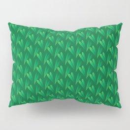 3D Foliage Pattern Pillow Sham