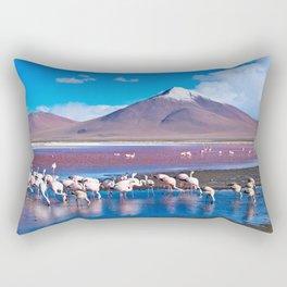 Laguna Colorada, Bolivia Rectangular Pillow