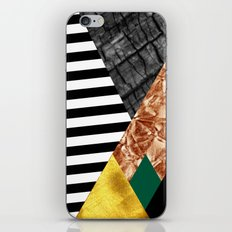 fall abstract triangle iPhone Skin
