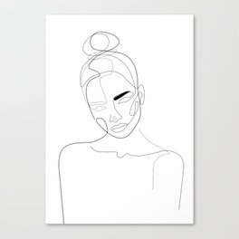 Lined Look Canvas Print