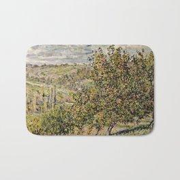 Claude Monet - Apple Blossom Bath Mat