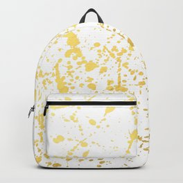 Splat White Gold Backpack