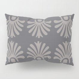 "B.G. Riley ""Fleurons in Iron Gray"" Pillow Sham"